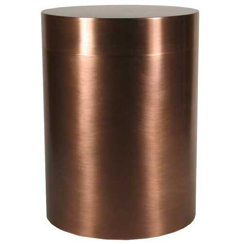 Canister Copper Pet Urn