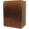 Modern Art Copper Pet Urn