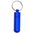 Pet Urn Jewelry: Blue Keychain Engravable