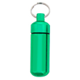 Pet Urn Jewelry: Green Keychain Engravable