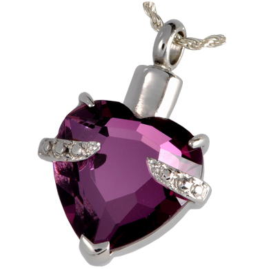 Pet Cremation Jewelry Imperial Heart