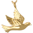 Pet Cremation Jewelry: Dove