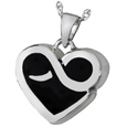 Infinite Heart Pet Cremation Jewelry
