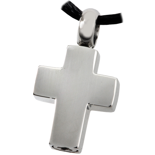 Pet Cremation Jewelry Stainless Steel Remembrance Cross