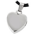 Pet Cremation Jewelry Stainless Steel Remembrance Heart