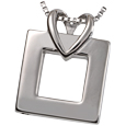 Pet Cremation Jewelry Stainless Steel Wrapped In Love