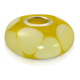 Pet Cremation Jewelry: Lasting Memory Bead Yellow