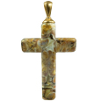 Pet Cremation Jewelry Calico Cross
