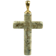 Pet Cremation Jewelry Fossil Cross