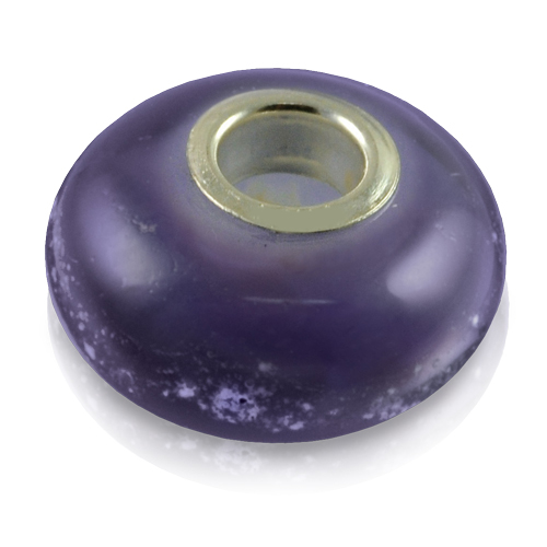 Pet Cremation Jewelry Perfect Memory Bead Purple