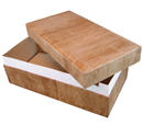 Biodegradable Wood-Grain Pet Casket