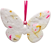 Pet Memorial: Plantable Butterfly- Pink