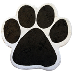 Pet Memorial: 20 Small Plantable Paw Prints