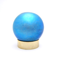 Art Glass Small Pet Urns Small Sphere Blue