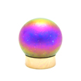 Art Glass Small Pet Urns Small Sphere Pink