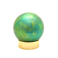 Art Glass Small Pet Urns Small Sphere Green
