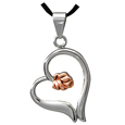 Pet Cremation Jewelry Premium Stainless Steel Rose Heart