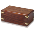 Perfect Wooden Box Pet Urn Small