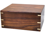 Perfect Wooden Box Pet Urn Over-sized