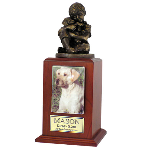 Friends Forever Cremation Dog Urn - Small