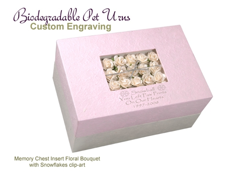 Biodegradable Pet Urns: 