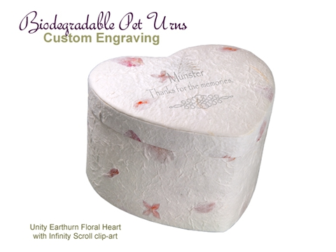 Biodegradable Pet Urns: Unity 